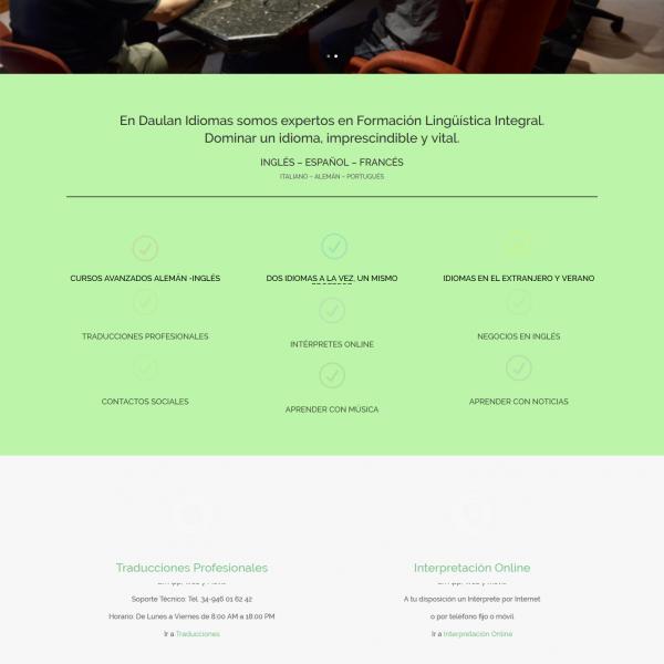 Daulan Idiomas Centro de formación lingüística integral
